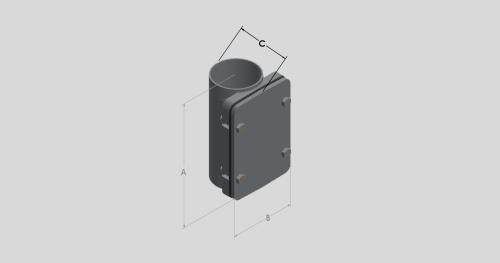 Access Pipe - Rectangular Door