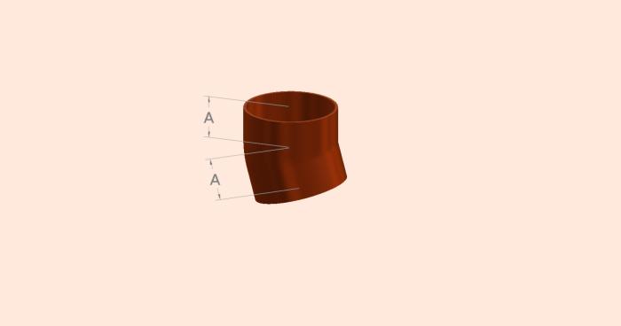 15 Degree Short Radius Bend