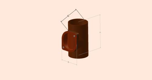 Access Pipe - Round Door