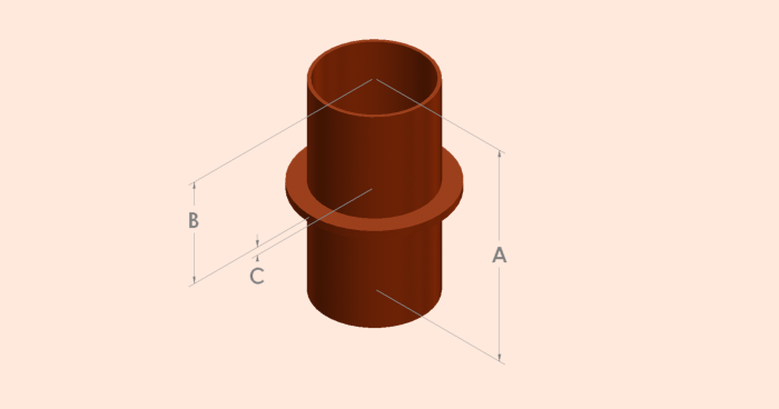 Stack Support Pipe