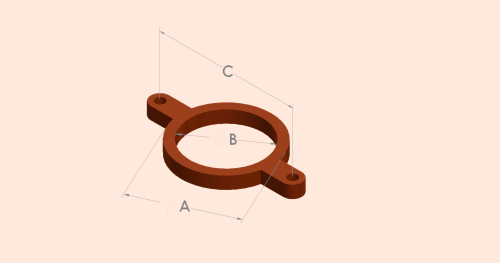 Stack Support Pipe Bracket