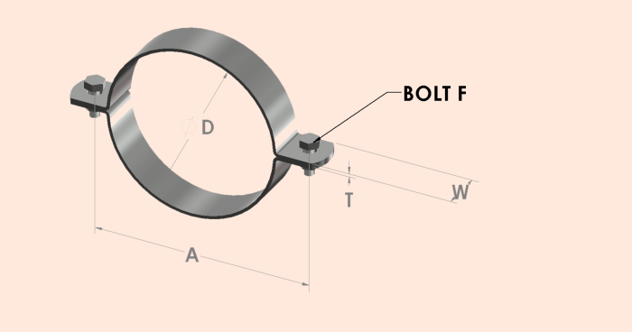 Split Band Clip