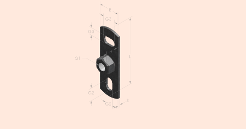 Wall Plate: Type 670