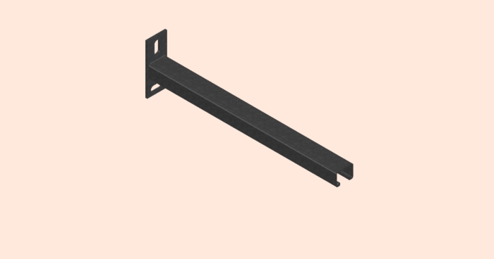 Galvanised Cantilever Arms
